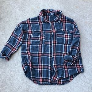 Charlotte Russe | Buttery Soft Cuffed Flannel